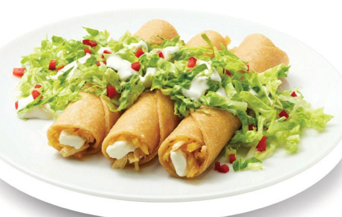 tacos fritos mexicanos