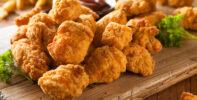 Nuggets de pollo frito