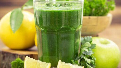 Como hacer un jugo verde adelgazante