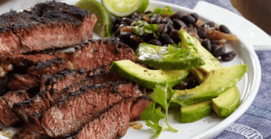 Como hacer carne asada