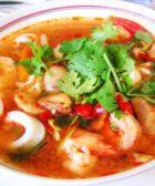 como hacer sopa de camarones hondureña