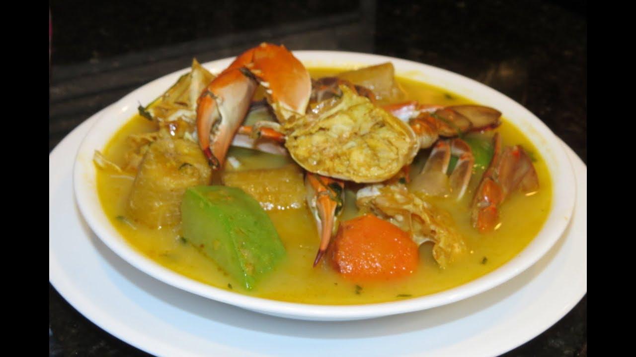 sopa de jaiba con leche de coco receta